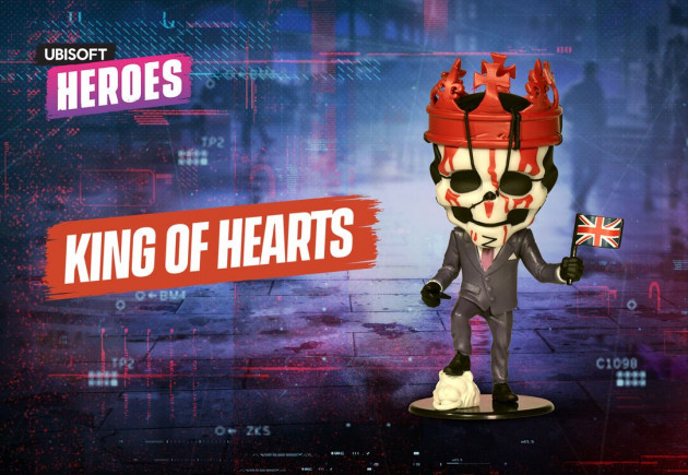 Figurka Watch Dogs - King of Hearts (Ubisoft Heroes 7)