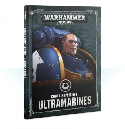 Kniha W40k: Codex: Ultramarines (2019)