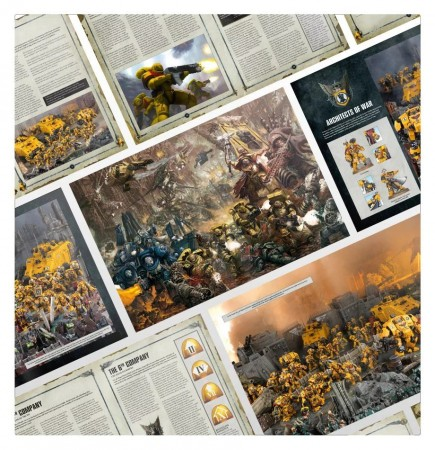 Kniha W40k: Codex Supplement: Imperial Fists
