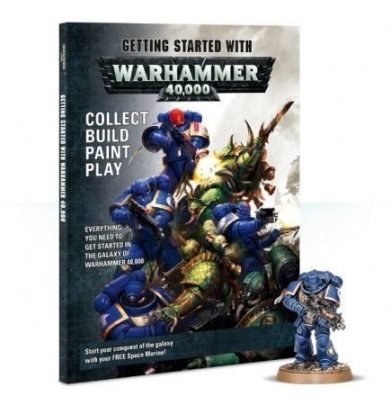 Kniha Getting Started with Warhammer 40K