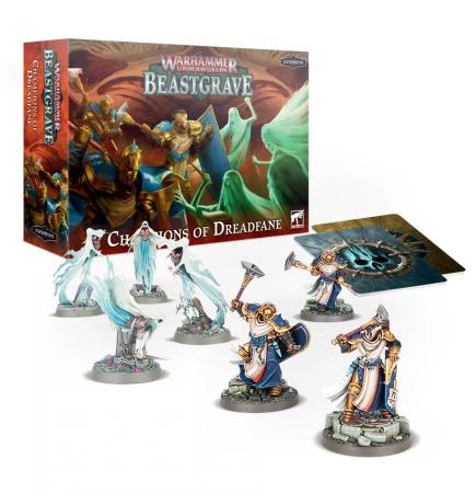 Desková hra Warhammer Underworlds: Beastgrave - Champions of Dreadfane (rozšíření)