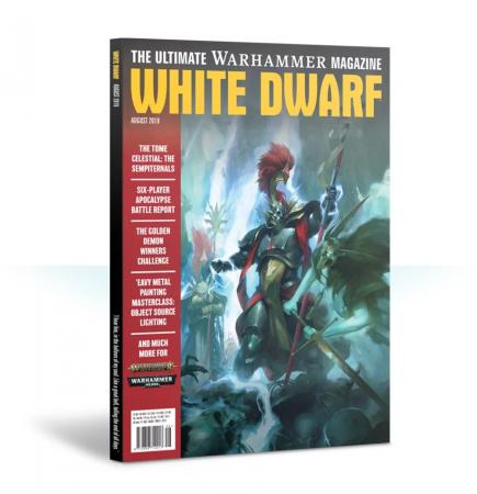Časopis White Dwarf 2019/08