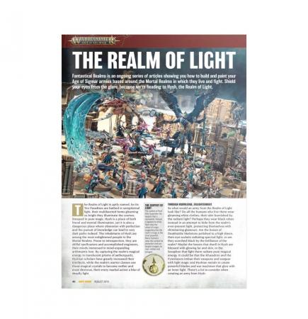 časopis White Dwarf srpen 2019