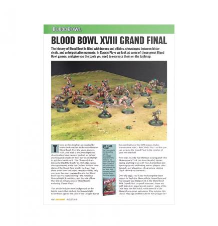 časopis o Warhammer