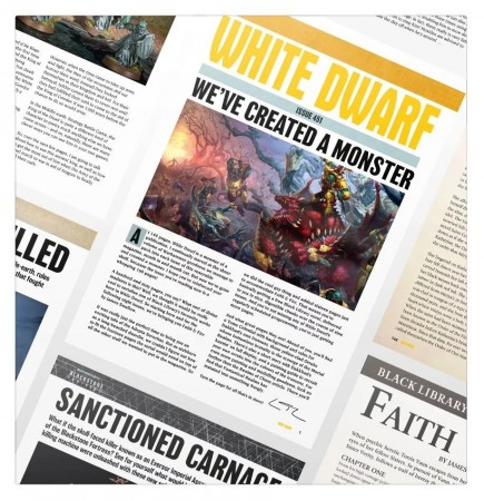 časopis White Dwarf únor 2020