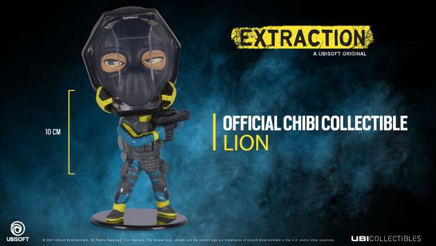 Figurka Rainbow Six: Extraction - Lion (Chibi)