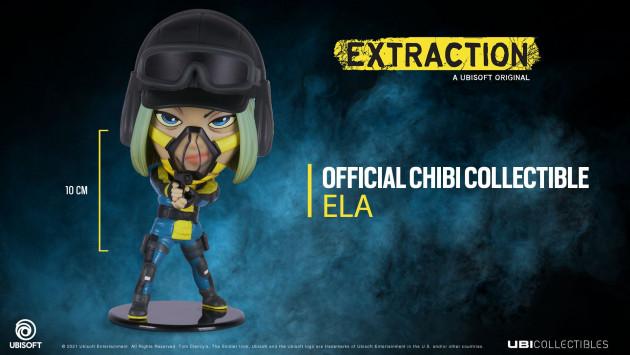 Figurka Rainbow Six: Extraction - Ela (Chibi)