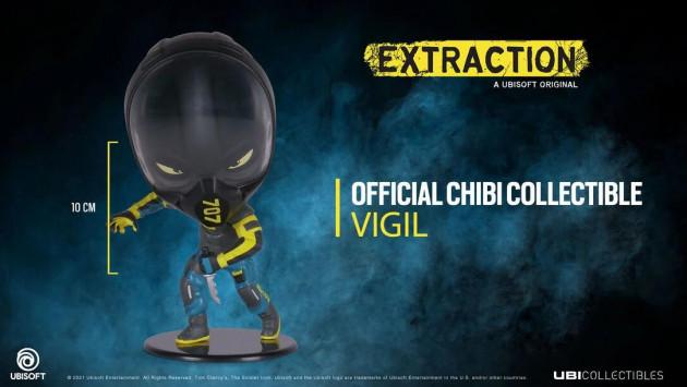 Figurka Rainbow Six: Extraction - Vigil (Chibi)
