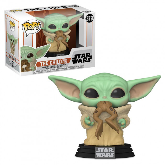 Figurka Star Wars: The Mandalorian - The Child with Frog (Funko POP! Star Wars 379)