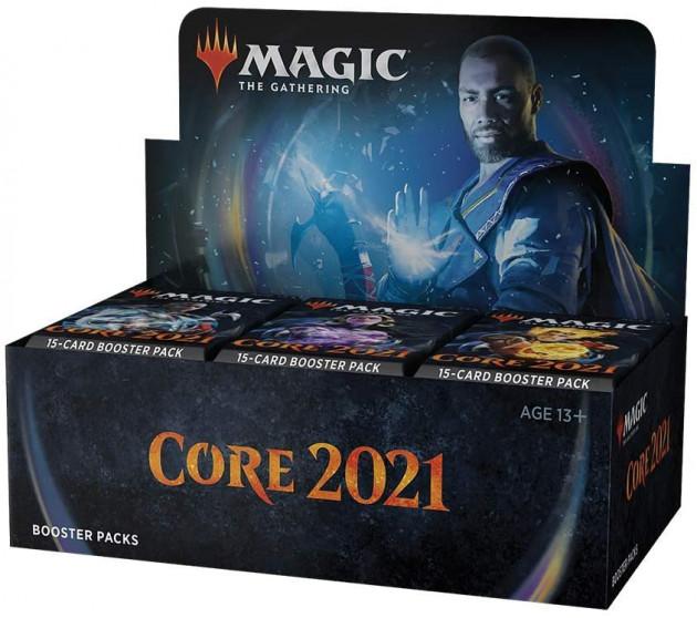 Karetní hra Magic: The Gathering 2021 - Draft Booster Box (36 Boosterů)
