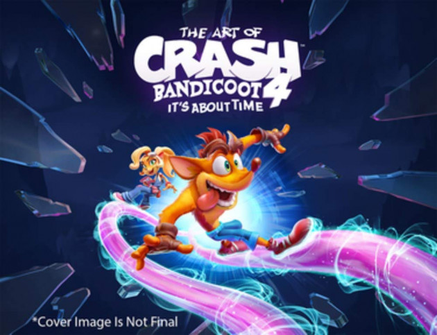 Kniha The Art of Crash Bandicoot 4: It's About Time