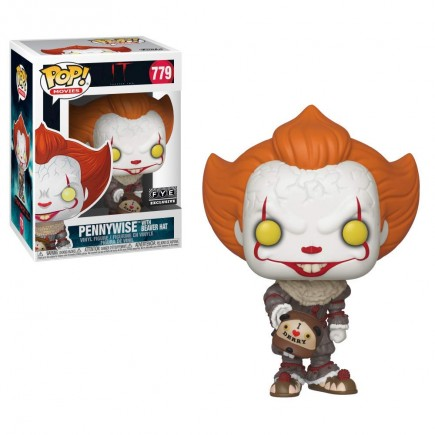 Figurka IT 2 - Pennywise with Beaver Hat (Funko POP! Movies 779)