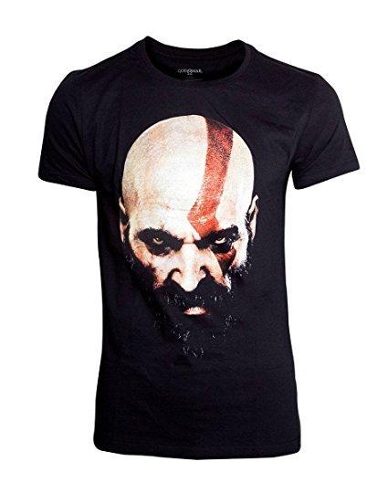 Tričko God of War - Kratos Face (velikost XL)