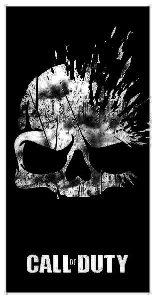 Ručník Call of Duty - Broken Skull