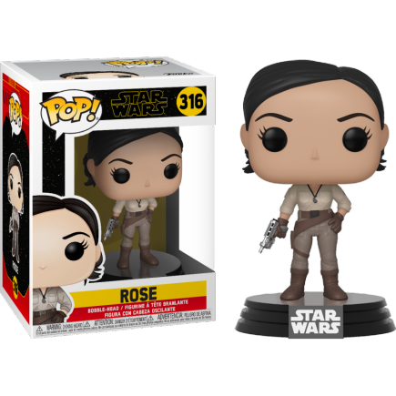 Figurka Star Wars IX: Rise of the Skywalker - Rose (Funko POP! Star Wars 316)