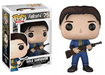 Figurka Fallout - Sole Survivor (Funko POP! Games 75)