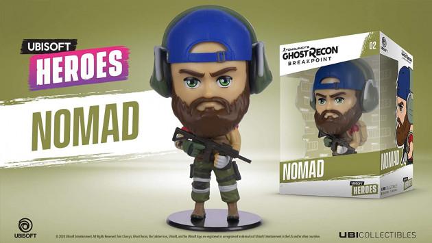 Figurka Ghost Recon: Breakpoint - Nomad (Ubisoft Heroes 2)