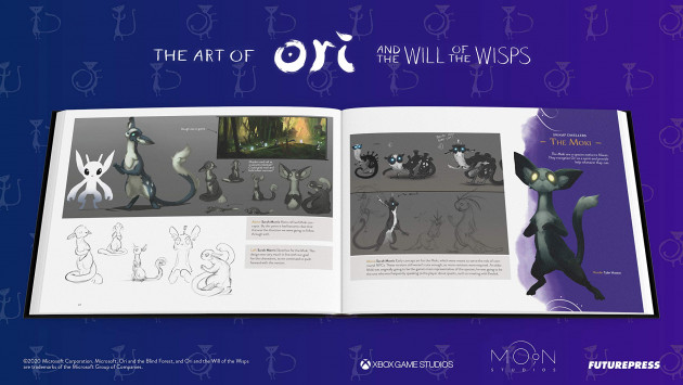 Kniha The Art of Ori and the Will of the Wisps