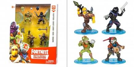Figurka Fortnite Battle Royale Collection (4 figurky Raptor, RustLord, Rex, Raven)