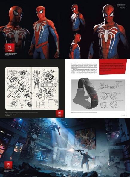 Kniha The Art of Marvels Spider-Man
