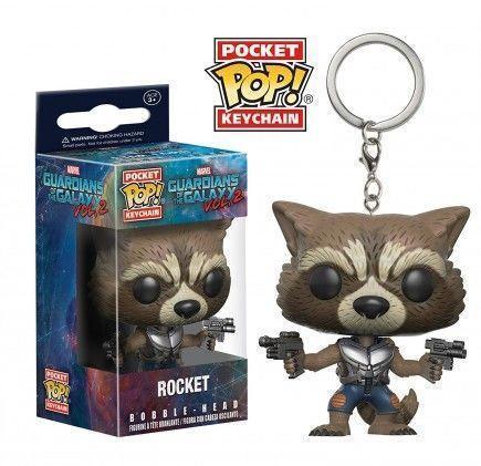 Klíčenka Guardians of the Galaxy vol. 2 - Rocket (Funko)