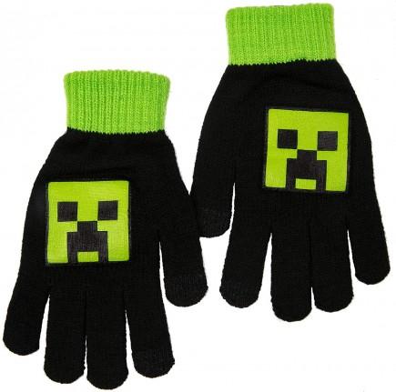 Rukavice dětské Minecraft - Creeper