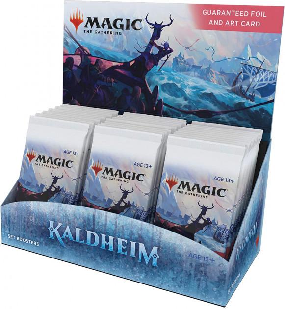 Karetní hra Magic: The Gathering Kaldheim - Set Booster Box (30 Boosterů)