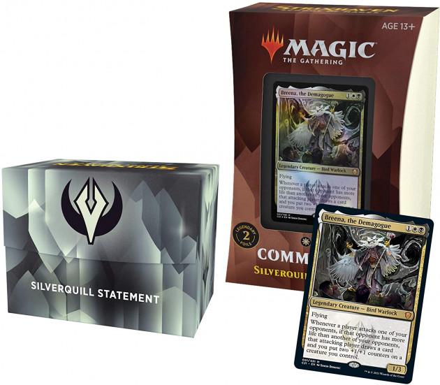 Karetní hra Magic: The Gathering Strixhaven - Silverquill Statement (Commander Deck)