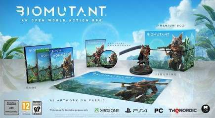 Biomutant - Collectors Edition (PS4)