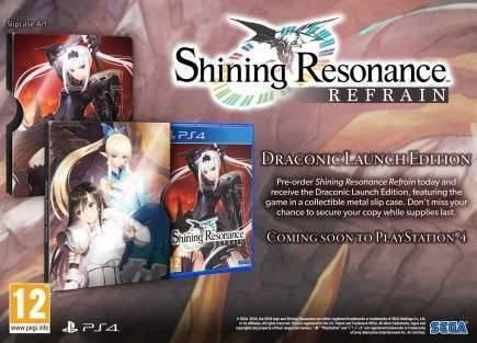 Shining Resonance Refrain - Draconic Launch Edition
