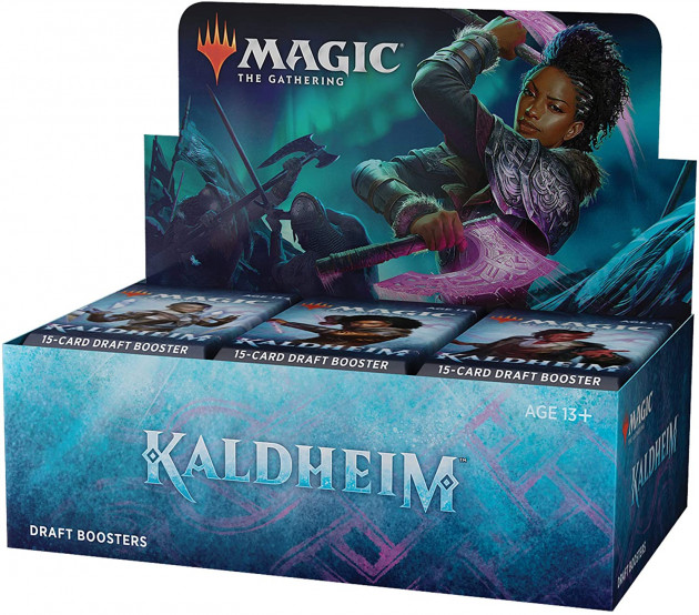 Karetní hra Magic: The Gathering Kaldheim - Draft Booster (15 karet)