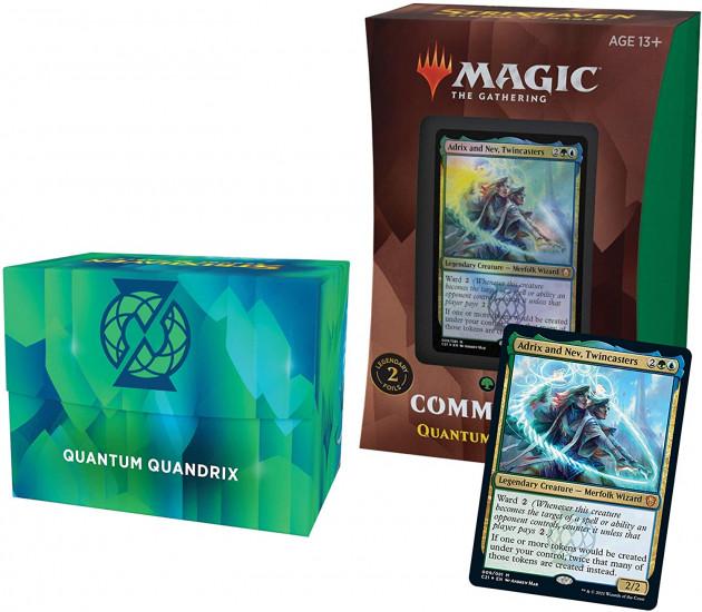 Karetní hra Magic: The Gathering Strixhaven - Quantum Quandrix (Commander Deck)