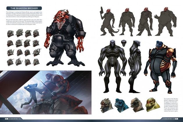 Kniha The Art of Mass Effect Trilogy - Expanded Edition
