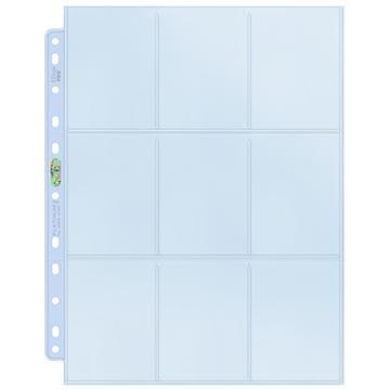 Stránka do alba Ultra Pro - 9-Pocket Platinum Pages (1 ks)