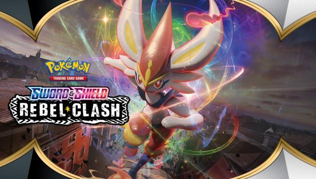 Karetní hra Pokémon TCG: Sword and Shield Rebel Clash - A4 Album (252 karet)