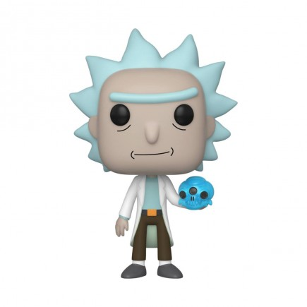Figurka Rick and Morty - Rick with Crystals (Funko POP! Animation 692)
