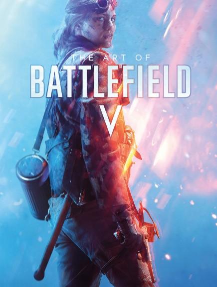 Kniha The Art of Battlefield V