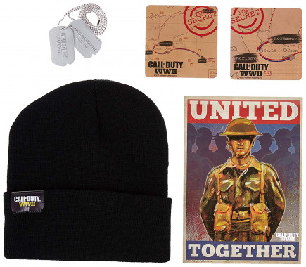 Dárkový set Call of Duty: WWII - Limited Edition Gear Crate