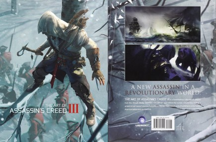 Kniha The Art of Assassins Creed III