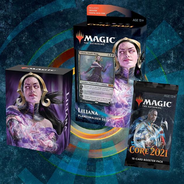 Karetní hra Magic: The Gathering Core 2021 - Liliana (Planeswalker Deck)
