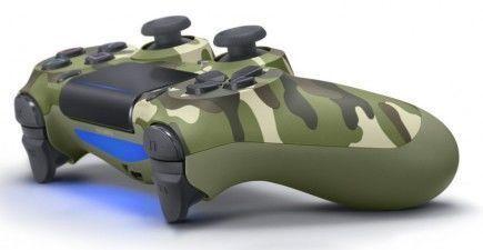 DualShock 4 ovladač - Green Cammo V2