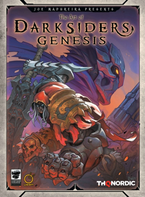 Kniha The Art of Darksiders Genesis