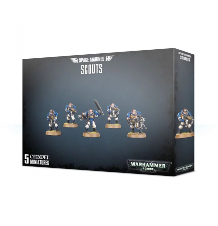 W40k: Space Marines - Scouts (5 figurek)