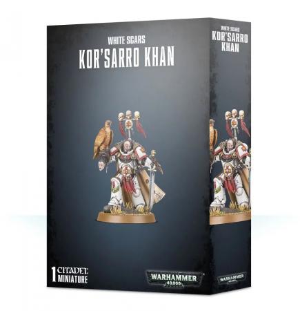 W40k: White Scars - Korsarro Khan (1 figurka)