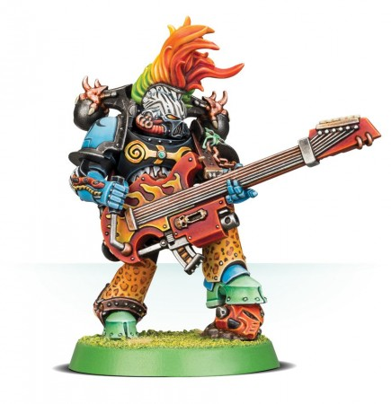 W40k: Chaos Space Marines - Noise Marine