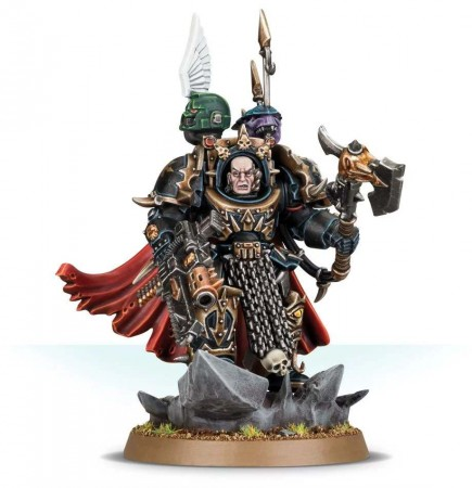 W40k: Chaos Space Marines - Chaos Lord in Terminator Armour
