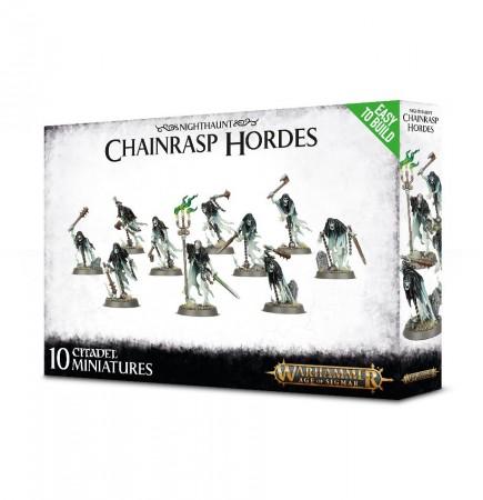 W-AOS: Nighthaunt - Chainrasp Hordes (10 figurek)