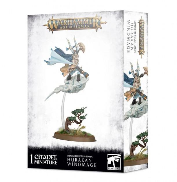 W-AOS: Lumineth Realm Lords Hurakan Windmage (1 figurka)