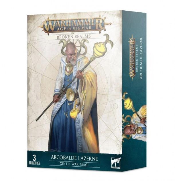 W-AOS: Broken Realms - Arcobalde Lazerne, Xintil War-Magi (3 figurky)