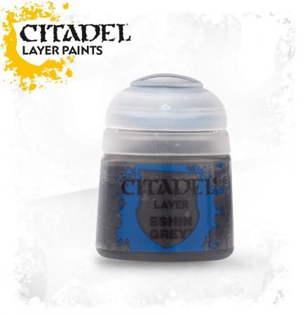 Citadel Layer Paint (Eshin Grey) - krycí barva, šedá